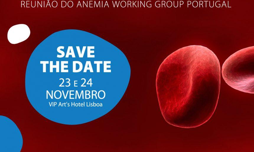 Save the date: Reunião do Anemia Working Group Portugal decorre em novembro em Lisboa