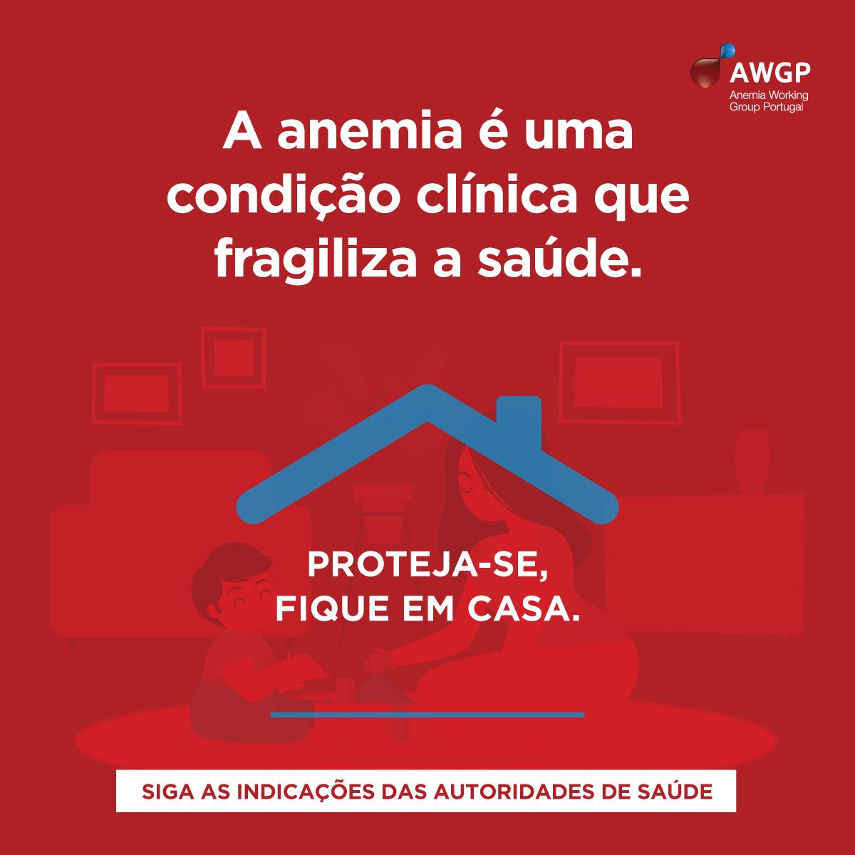 """Para as pessoas que vivem com anemia ou outros problemas de saúde, é importante """"não baixar a guarda"""""""